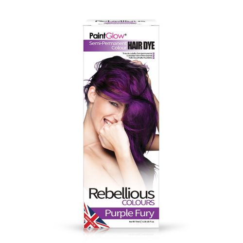 Purple Fury - Semi Permanent Hair Dye 70ml